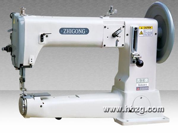 GA441特厚特料极粗线综合送料筒式平缝机