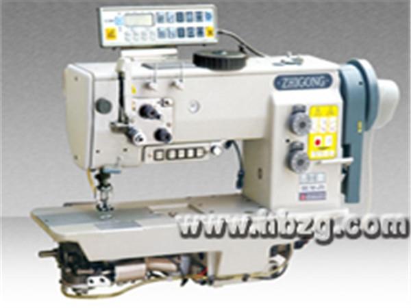 GSC767-573型单针自动剪线综合送料厚料平缝机