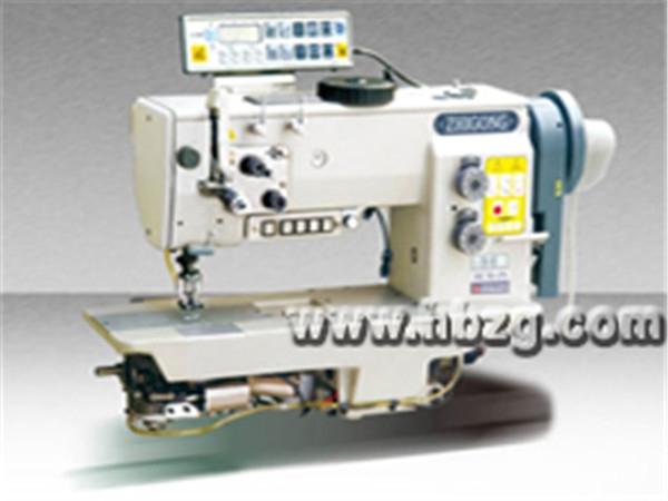 GSC767-273型双针自动剪线综合送料厚料平缝机