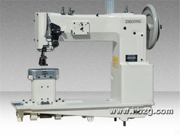 GWN-28BL15单针/双针粗线长臂型立柱式综合送料厚料平缝机