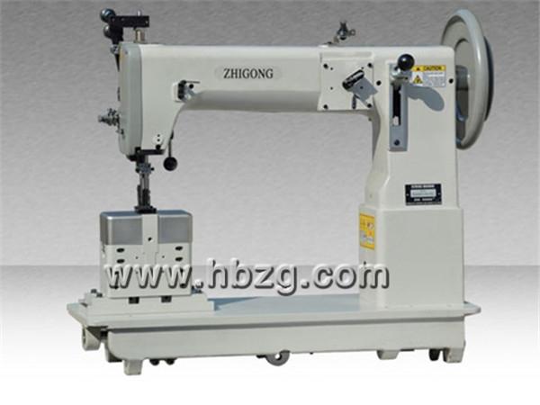 GA243-2A-CL型摆梭双针立柱式综合送料特厚料缝纫机