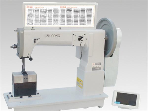 GA243-HM820综合送料柱式单/双针电子花样机