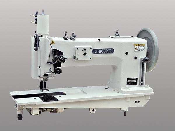 GW-28BL15双针综合送料极厚料大旋梭粗线平缝机(经济型)