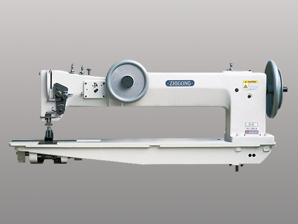 GW-28BL30双针长臂综合送料厚料平缝机(大旋梭,粗线)